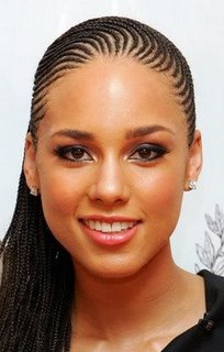 photos coiffure alicia keys nattes africaines
