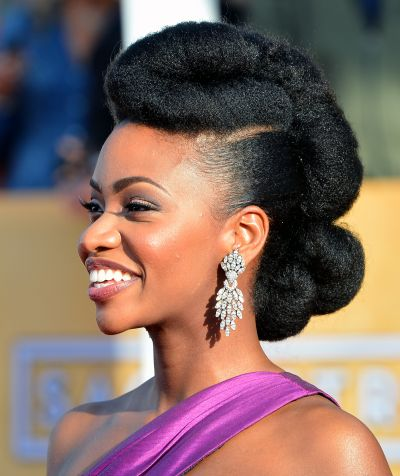 coupes de stars toutes les modeles et sytles de coiffures de teyonah parris photos grande. Black Bedroom Furniture Sets. Home Design Ideas